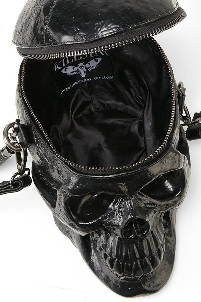 Grave Digger Black Skull Bag On Storenvy