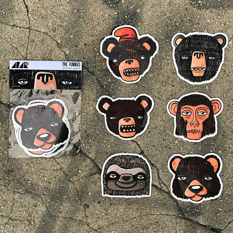 The furries sticker pack