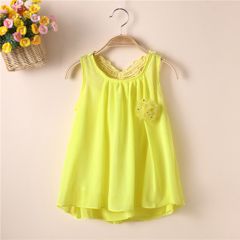 7e74a9fe986c7 Kid Baby Girls Chiffon Dress Summer Butterfly Vest Tutu Princess Dress Tops  2-6Y ...