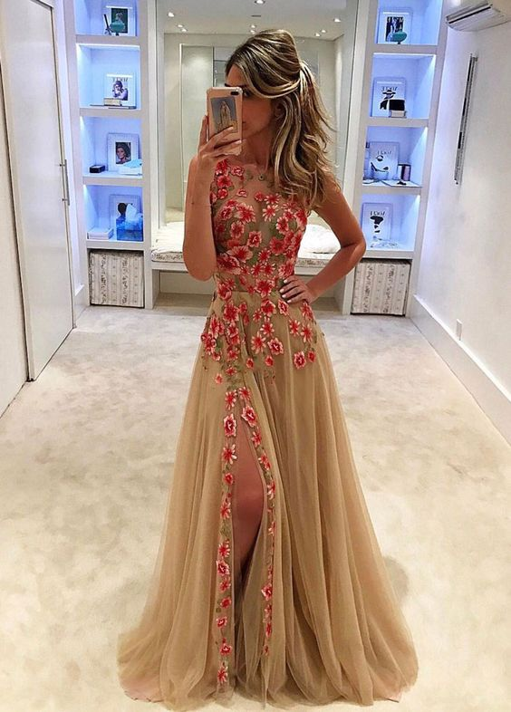 Sexy long formal dress
