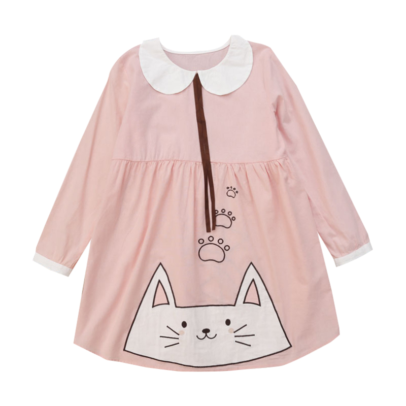 2fd8074f38c Mori 20japanese 20cat 20doll 20collar 20dress 20pink 20embroid 20 20mg2884  small