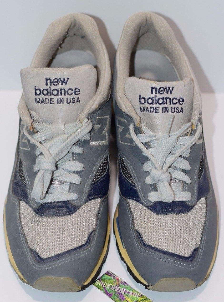 1990 New Balance 1500 Made in USA Running Shoes OG Original
