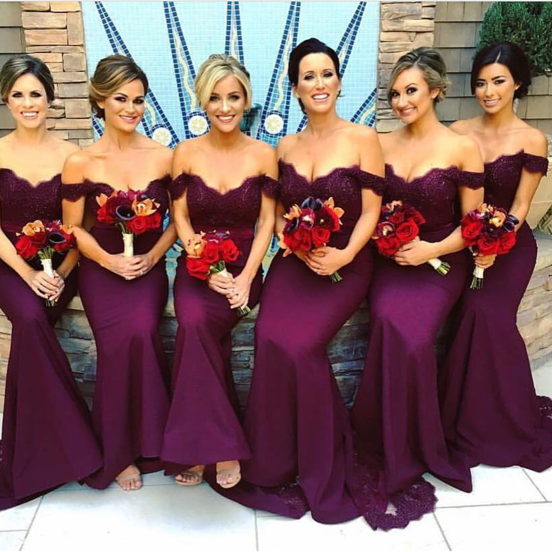Sexy bridesmaid dress