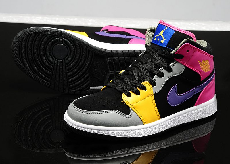 Air 20jordan 201 20shoes 202014 20new 20style 20womens 20purple 20pink  20black 20grey 20yellow 1 original 69a62f76c