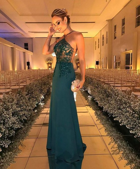 Long Prom Dresses,Halter prom dress,Cheap prom Dress,Affordable prom ...