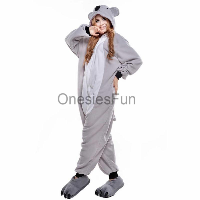 Image of: Cute Koala 20gray 202 E5 89 Af E6 9c Ac Original Storenvy Koala Animal Onesie Kigurumi Pajama Costume On Storenvy