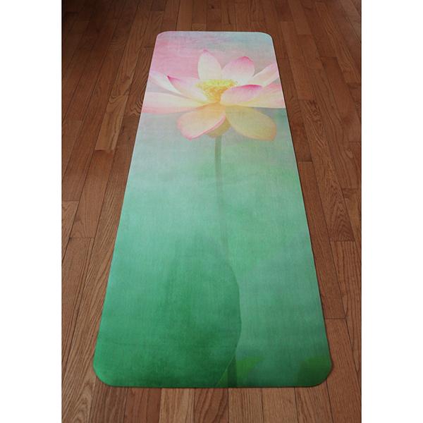 Eco Natural Yoga Mat Towel Combo: Supreme Lotus The Premium Eco Mat/towel Combination Yoga
