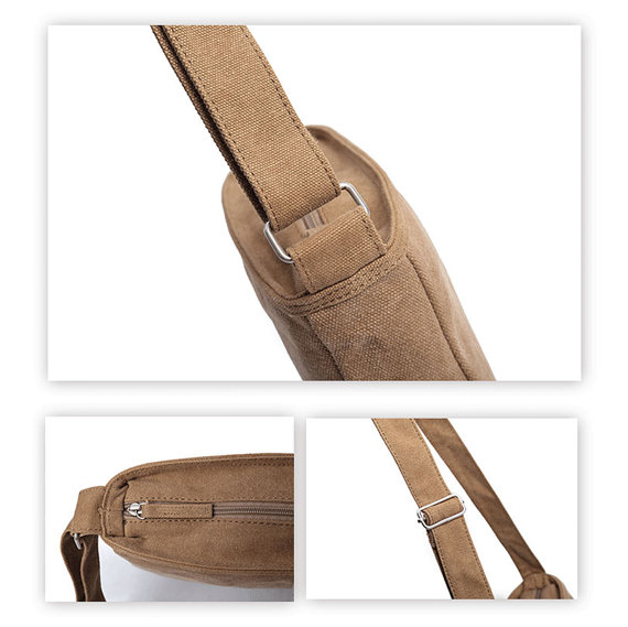 b39bf936777e Karitco Small Canvas Crossbody Bag Canvas Long Strap Bags Canvas ...