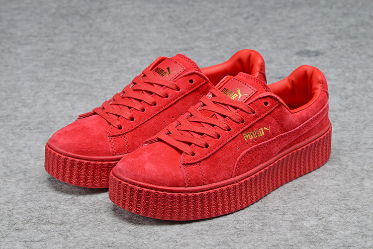 Fashion Shoes by fenty Women s Casual sneaker All red on Storenvy 80107b245a