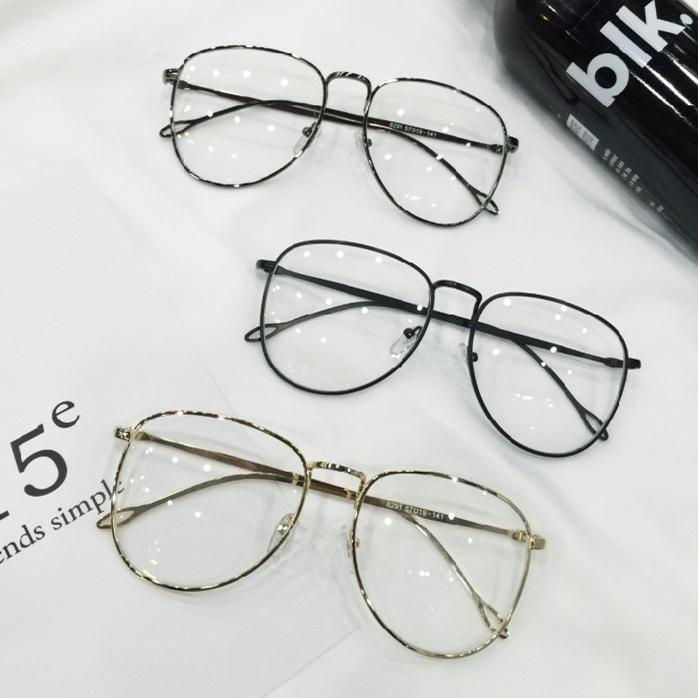5589c08dca4 ... Emo Retro Great Circle Eyeglass Korean Trendy Glasses DC222 - Thumbnail  2 ...