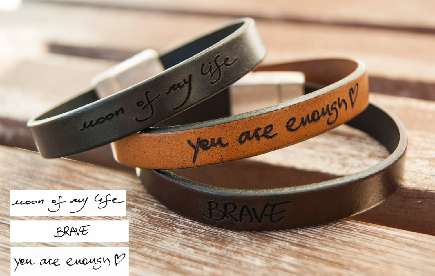 33fd620c10a08 Custom Handwriting Bracelet Signature Bracelet Actual Handwriting Best  Friend Gift Personalized Memorial Gift Handwriting Jewelry Leather from ...