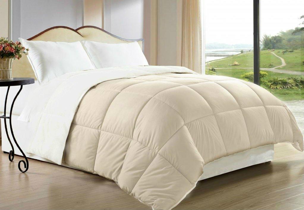 3 Piece Comforter Goose Down Alternative Reversible Set