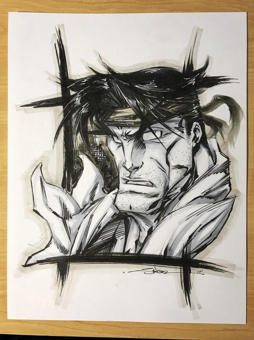 Street Fighter Fan Art Drawing Ryu