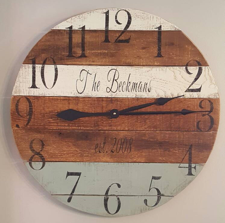Il fullxfull1078409925 4860 original Personalized pallet clock