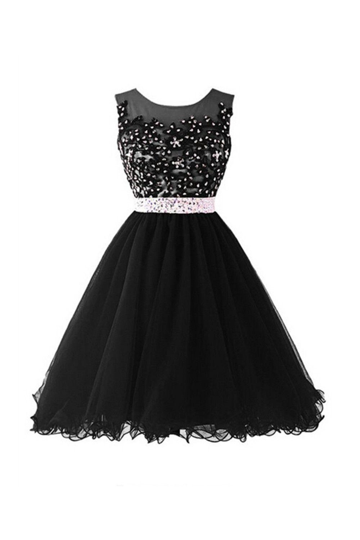 4b44c035a Black Homecoming Dress,Short Prom Dress,Graduation Party Dresses,  Homecoming Dresses For Teens