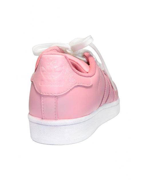 White & Black Custom Rainbow Speckled Adidas Superstar Low from SneakerSuperShop