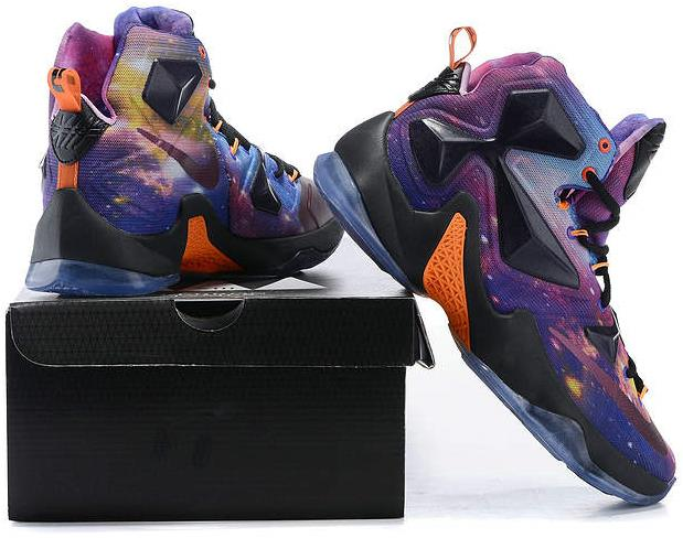 Lebron 13 Nike Galaxy Multi Color on Storenvy 9c46d71102