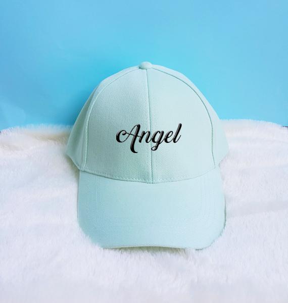 a4f9211c4ad Angel Embroidery Baseball Cap Unisex Hat Tumblr Pinterest on Storenvy