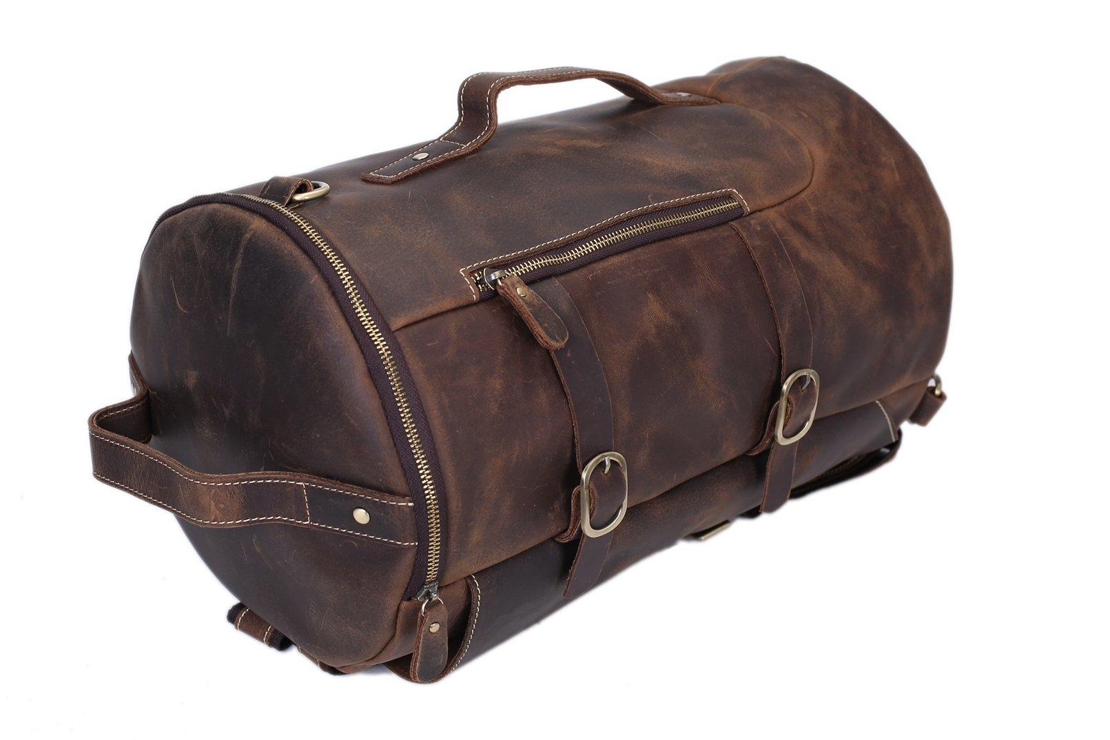 ... Handmade Vintage Leather BackpacK  Travel Backpack  Messenger Bag   Sling Bag Z106 - Thumbnail ...