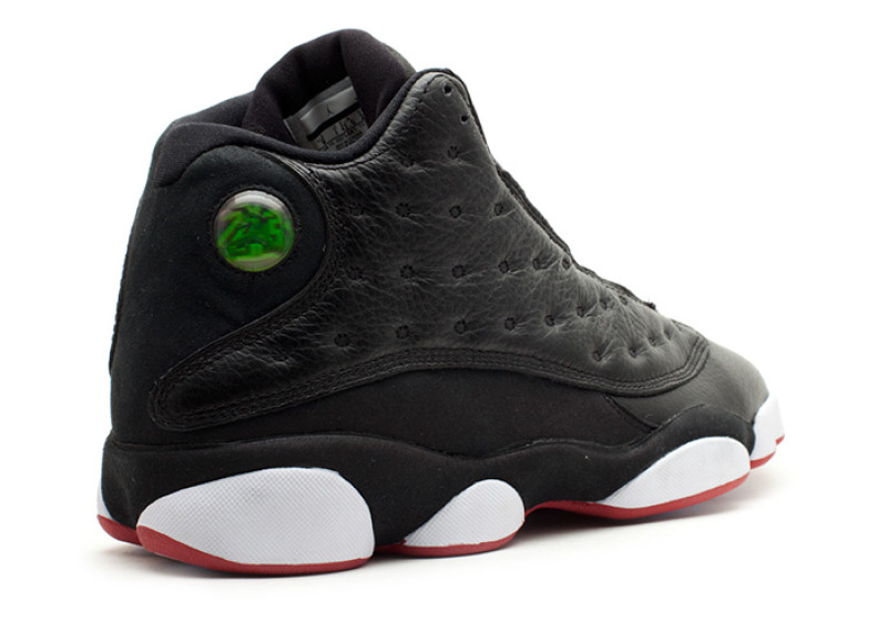 "best service e9e7a be566 AIR JORDAN 13 ""PLAYOFFS"" Wmn 5.5-8.5 &Men 8- 13 Color: Black/True Red-White  Style Code: 414571-004 sold by FreshnUp"