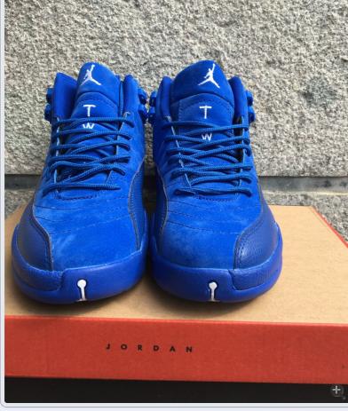 2c337762cd93 ... retro premium deep royal blue suede for sale 8e5cf 01741  low price nike  air jordan 12 basketball shoes on sale fashion nike air foamposite one shoes