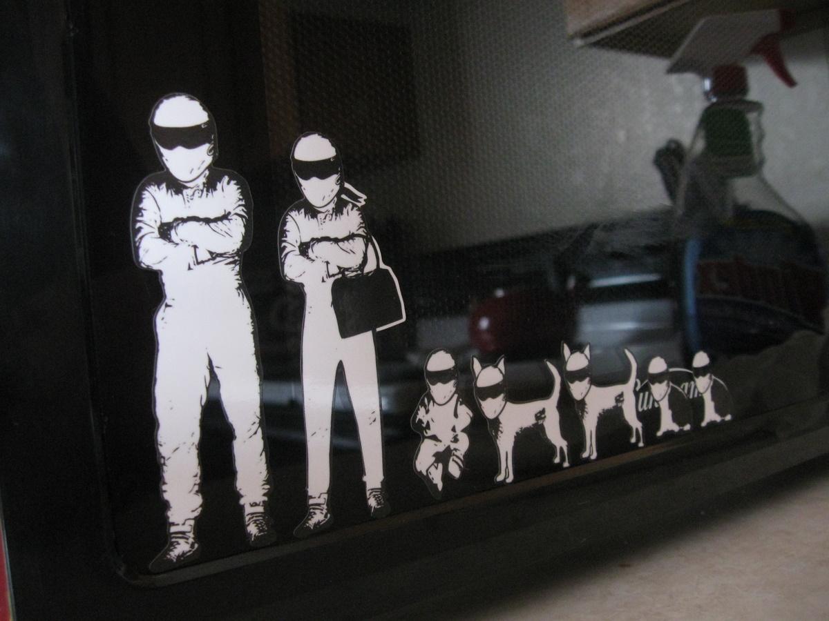Stig Family Stickers On Storenvy