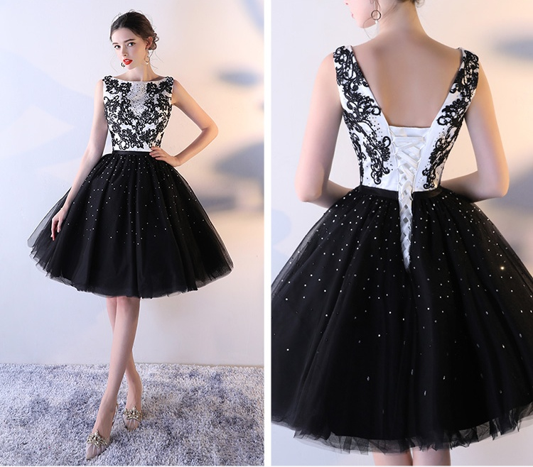 black and white homecoming dresseselegant homecoming dressessimple homecoming dresscheap homecoming