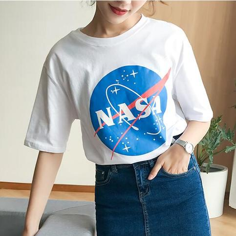 Nasa Printed T Shirt On Storenvy