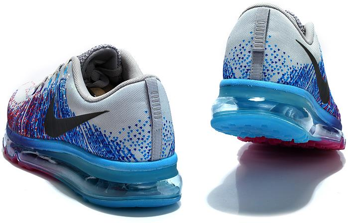 hot sale online fbb70 d4d9b Nike Air Max 2014 Flyknit Black Blue Silber Purple on Storenvy