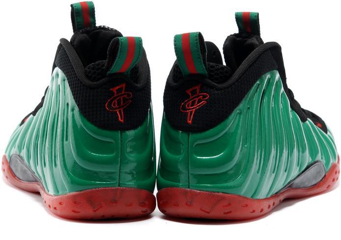 pretty nice 95b34 b8a87 cheap nike air foamposite pro green red black on Storenvy