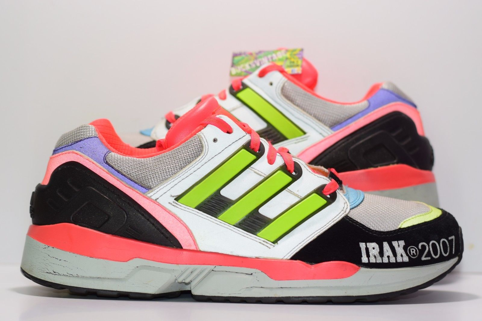 wholesale dealer cf196 f6653 Size 9  2007 Adidas RMX EQT IRAK ALIFE Running Shoes 3M on S
