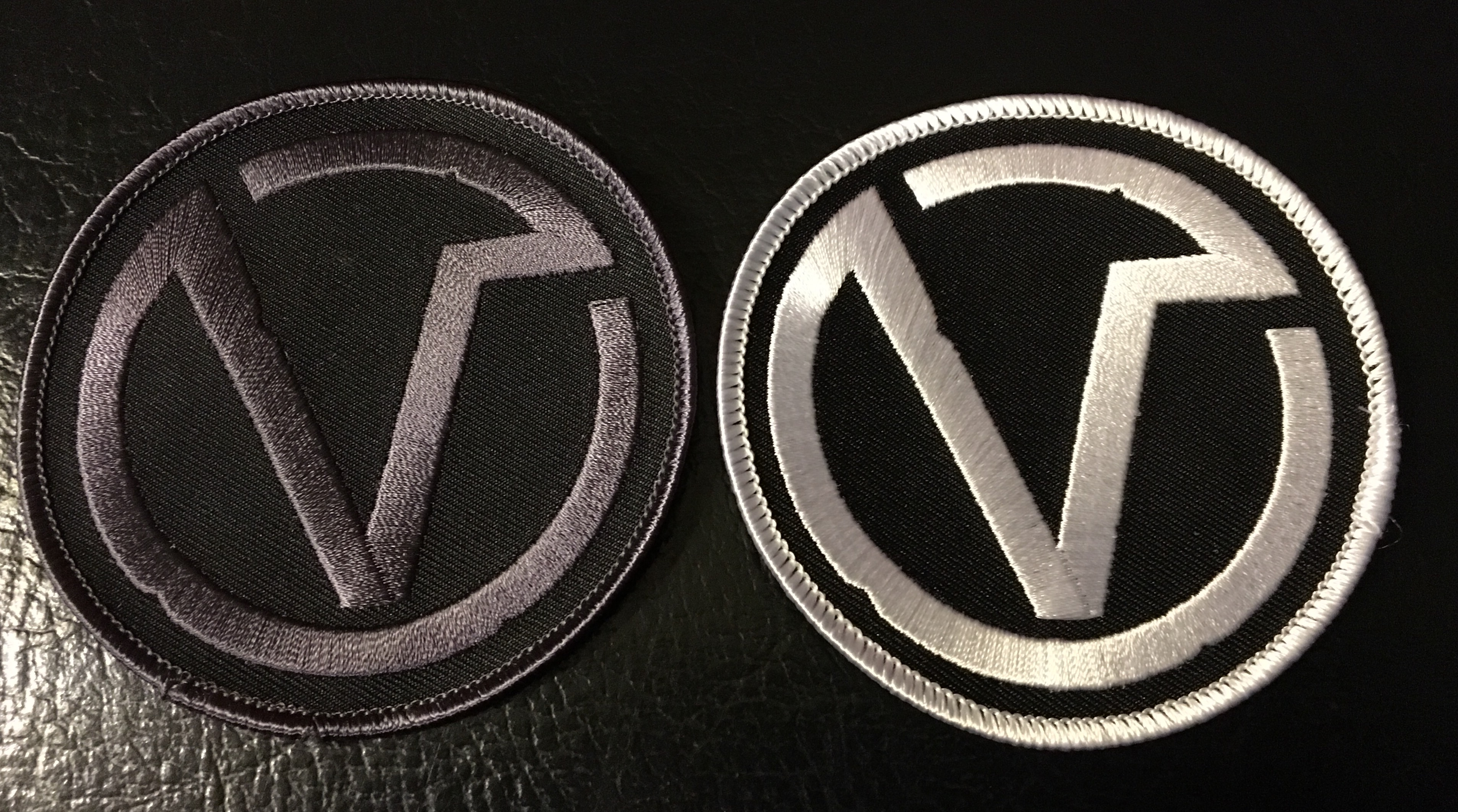 Circle V Embroidered Patch Viruspunks Online Store Powered By