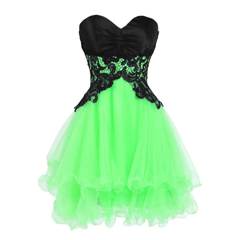 Cute Short Prom Dresses Princess Sweetheart Homecoming Dresses