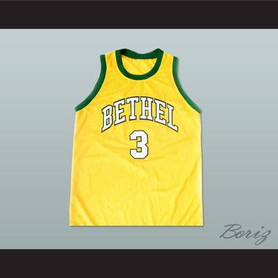 Allen iverson bethel high school basketball 3 jersey new stitch sewn -  Thumbnail 5 9605031b3