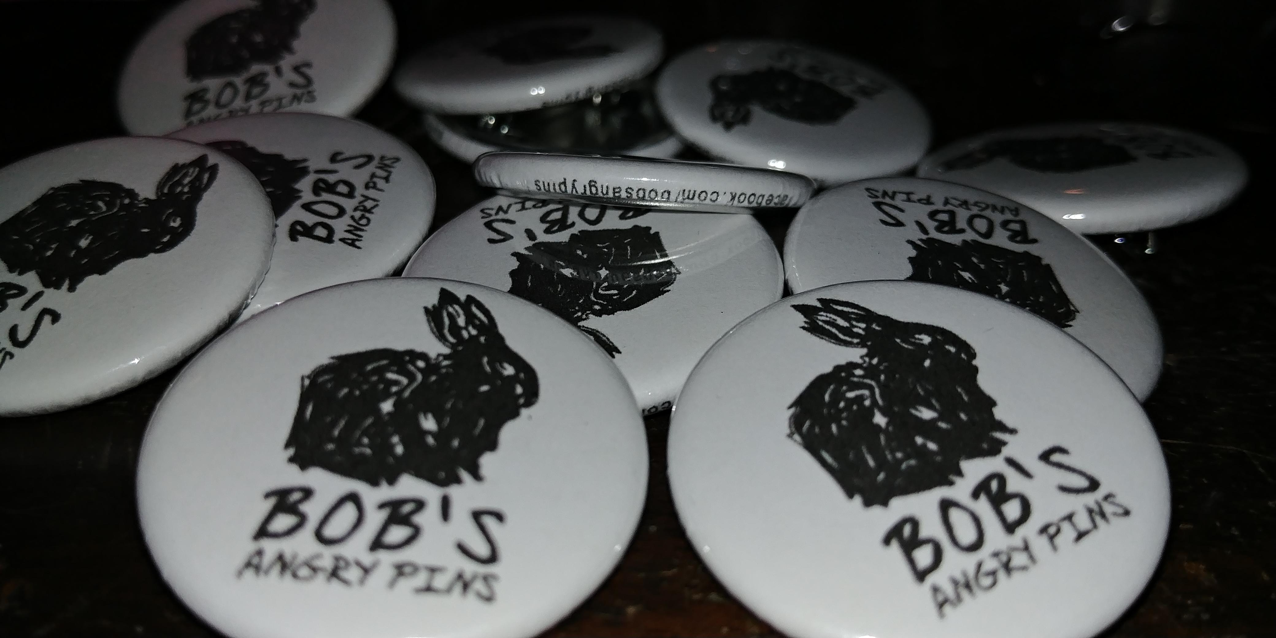 BOB'S ANGRY PINS