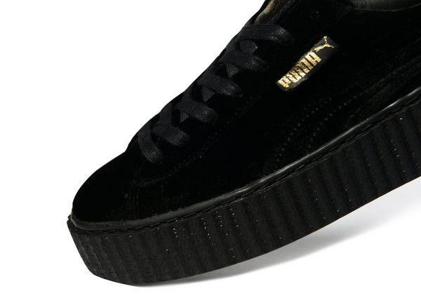 new product 0da1c fd6fe puma velvet black creepers