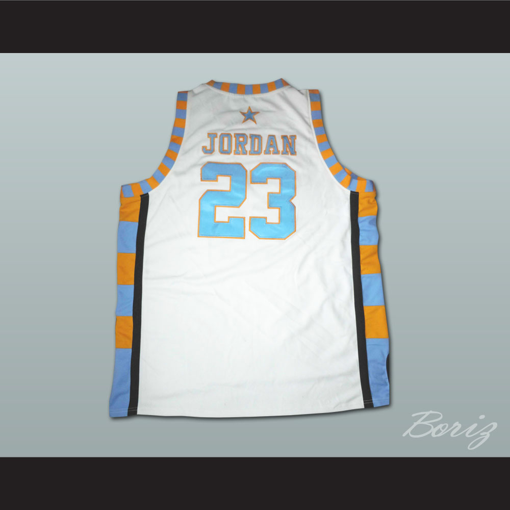 pretty nice cc484 b7388 Michael Jordan Laney High School Basketball Jersey New from acbestseller