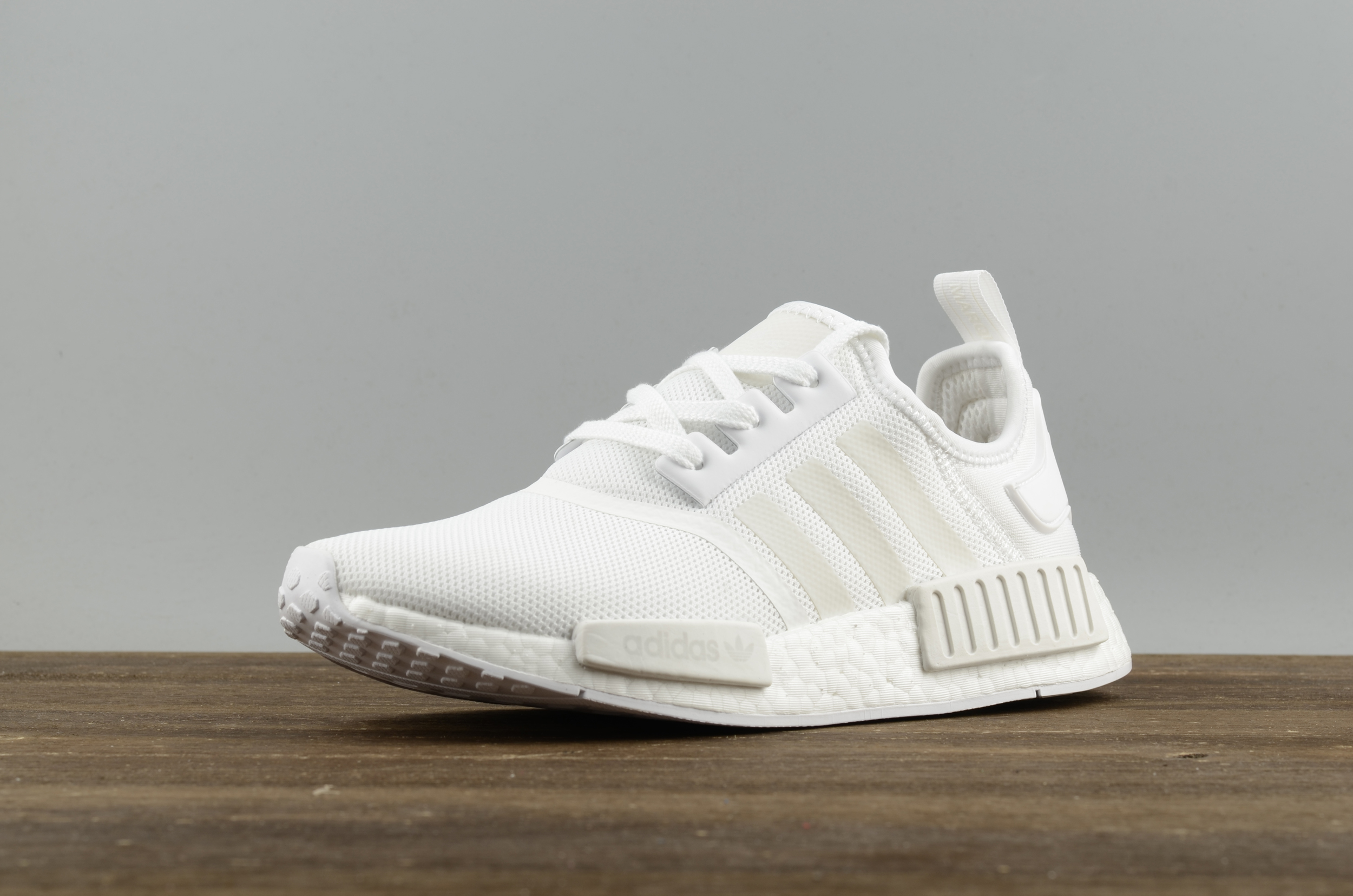 a52929a80d2fb Adidas NMD R1 Boost All white runner shoes · superstar · Online ...