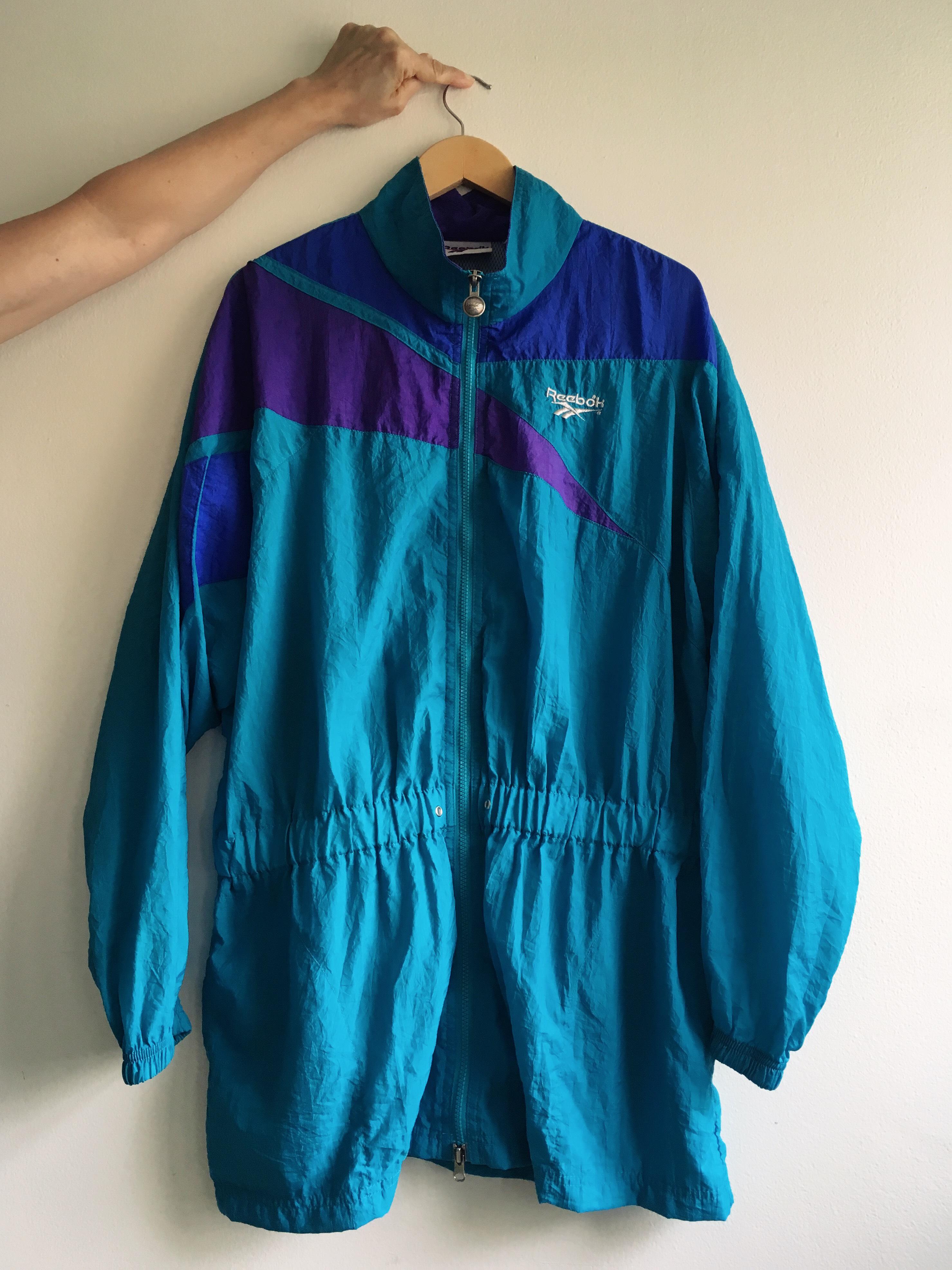 c08340ee43673 Vintage Reebok Jacket / Windbreaker