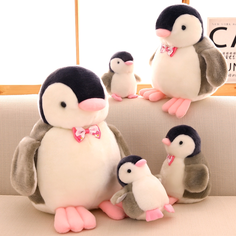 Cute Voice Baby Penguin Plush Toy Kawaii Dolls Pendant Dc469 The