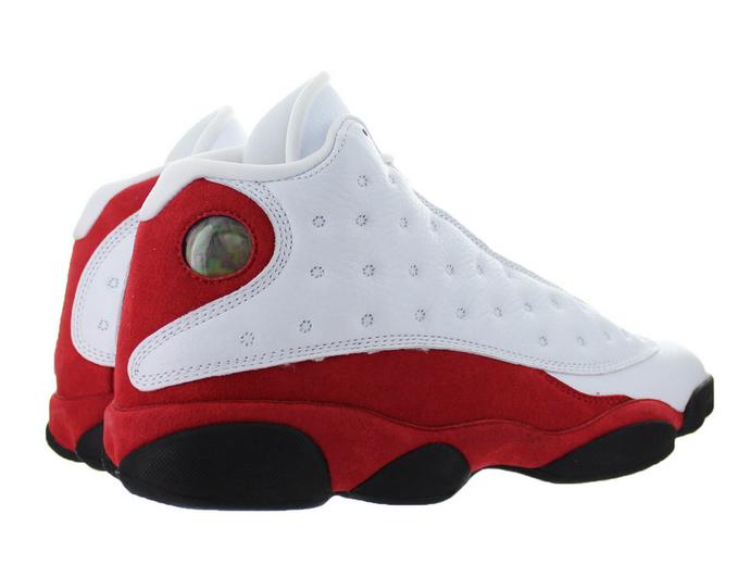 brand new ffd37 ed7dc Mens Air Jordan Retro 13 OG Chicago White Black True Red Cool Grey 414571- 122 on Storenvy