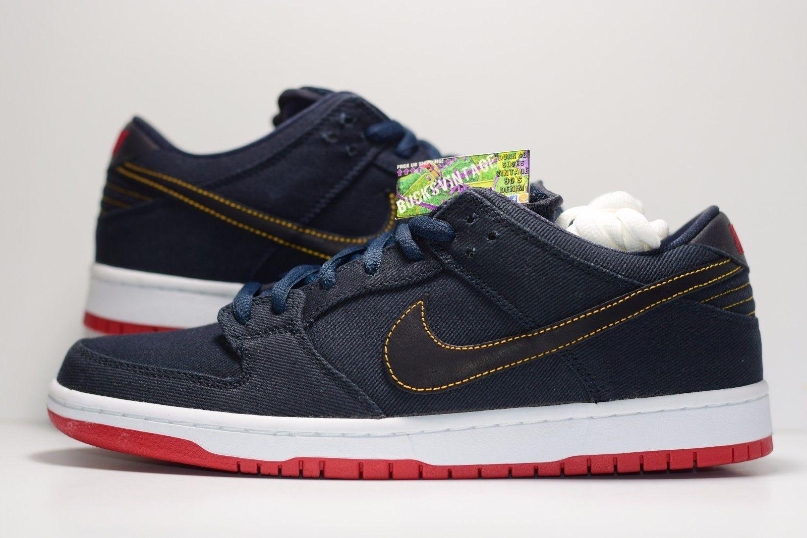 best sneakers b6fde b66f4 Size 10.5 | DS SAMPLE Nike Dunk SB LEVIS Blue Hyperstrike from BucksVintage