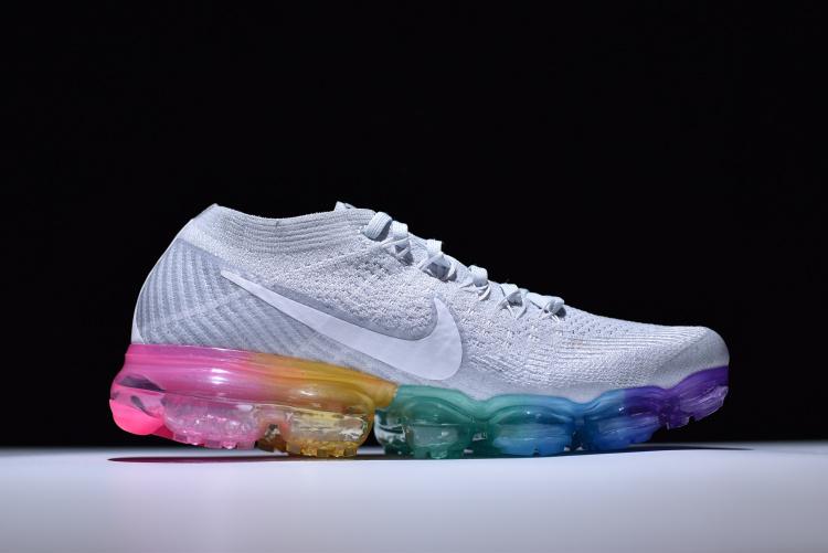 28b22783822 Newest Nike Air VaporMax Flyknit Steam Air Cushion running shoes