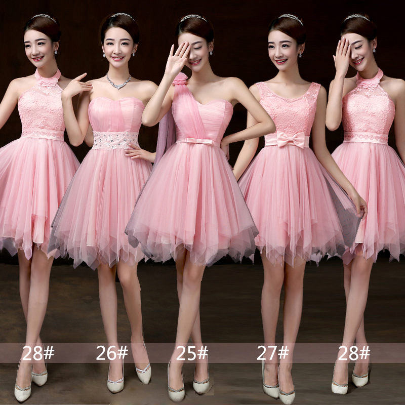 Bridesmaid Dress, Mini Prom Dresses ,Beading Dress ,Evening Dress ...