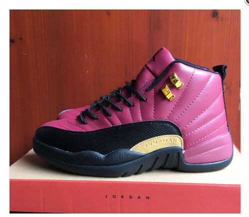 new arrival dd2f7 a6be9 2017 nike Air Jordan 12 Pink Black Gold PE For Sale on Storenvy