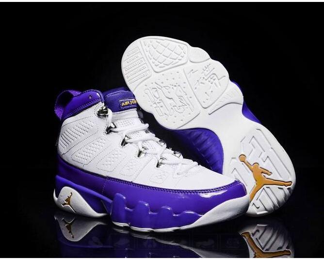 "079ef24e55f7 Nike Air Jordan 9 ""Kobe Bryant Lakers"" PE new in box men s size 7-13 ..."