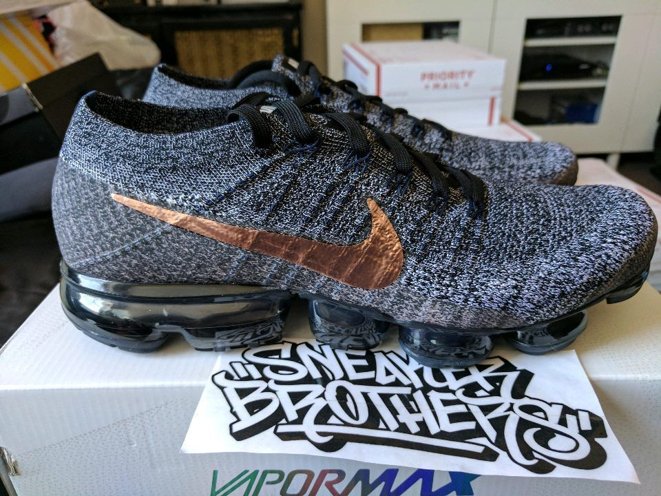 Nike Red Air Explorer Flyknit Bronze Black Dark Metallic Vapormax OOfrqAw