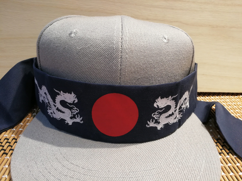 02b9651c4b2 Black Japanese Headband (Dragon) · Cherie Excellence · Online Store ...