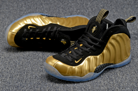 b60f067d5cb207 Newest Nike Air Foamposite One Gold Shoes Fashion Nike Air Foamposite One  Shoes Nike Air Jordan Basketball Shoes On Sale on Storenvy