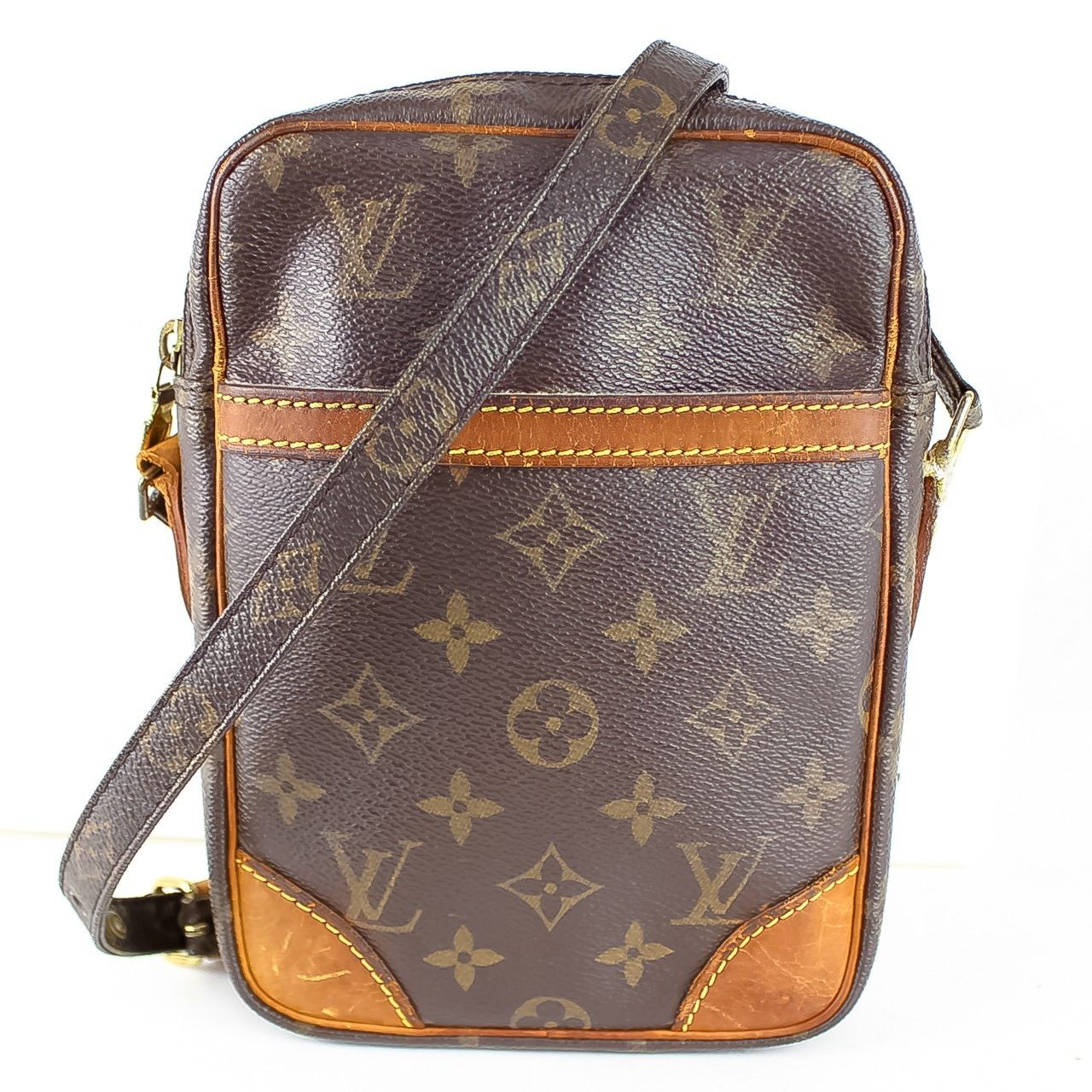 eec3d9fa8bea Authentic Louis Vuitton Danube Cross body Shoulder Bag Purse ...